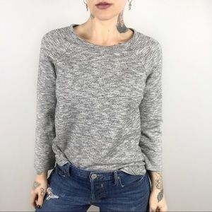 J. CREW Loomknit Sweatshirt in Heather